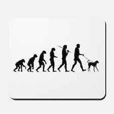 Walking The Dog Mousepad