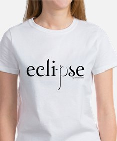 Eclipse Black and White by Twibaby Women's T-Shirt