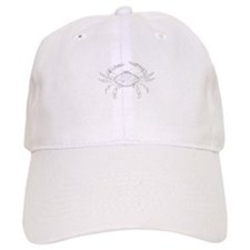 Blue Crab Art Baseball Cap