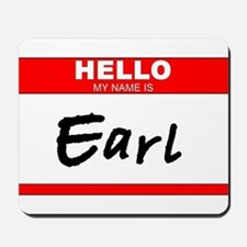 Earl Mousepad