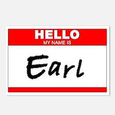Earl Postcards (Package of 8)