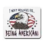 Proud American Eagle Mousepad