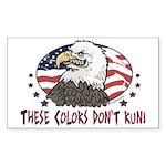 Proud American Eagle Sticker (Rectangle)