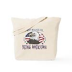 Proud American Eagle Tote Bag