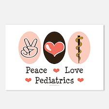 Peace Love Pediatrics D.O. Postcards (Package of 8