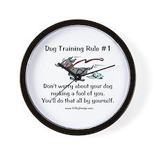 Trainer Fool Wall Clock