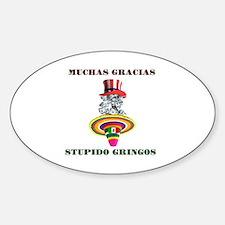 gringo welfare Decal