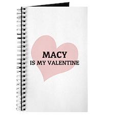 Macy Is My Valentine Journal
