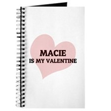 Macie Is My Valentine Journal