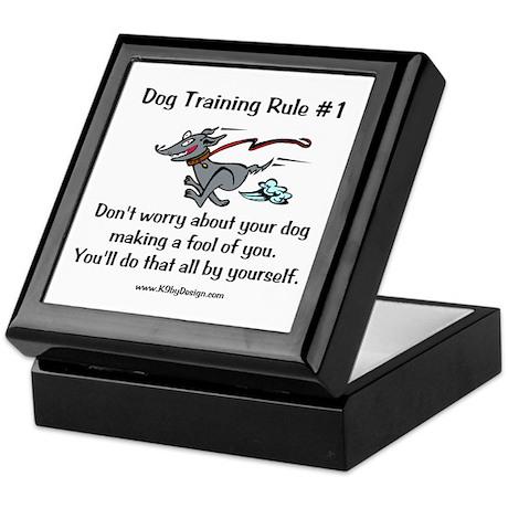 Trainer Fool Keepsake Box