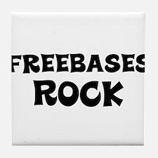 Freebases Rock Tile Coaster