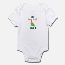 ME, MY CELL AND I Infant Bodysuit