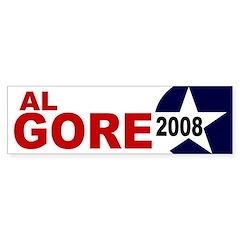 Al Gore 2008 (election bumper sticker)