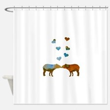 Lovely Tapirs Shower Curtain