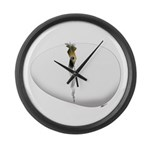Hatching Chick Large Wall Clock