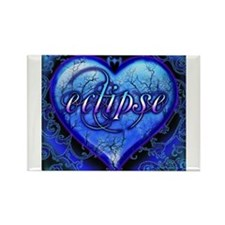 Eclipse Ornate Heart Rectangle Magnet (10 pack)