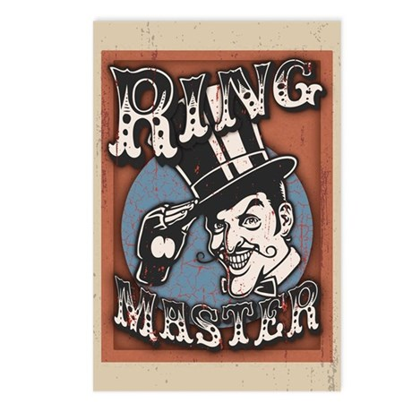 Ring Master Postcards (Package of 8)