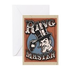 Ring Master Greeting Cards (Pk of 10)