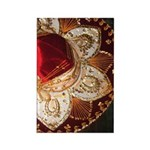 Red Charro Hat Rectangle Magnet