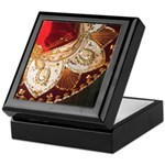 Red Charro Hat Keepsake Box