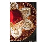 Red Charro Hat Postcards (Package of 8)