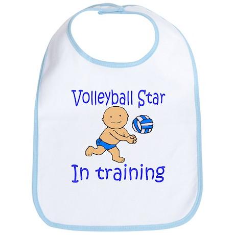 Volleyball Star Joshua Bib