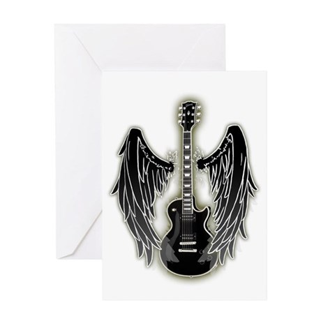 Guitar-000002 Greeting Cards
