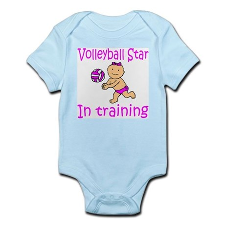 Volleyball Star Madison Infant Creeper
