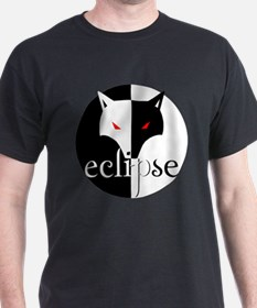 Eclipse Wolf Illusion by Twibaby T-Shirt