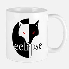 Eclipse Wolf Illusion by Twibaby Mug