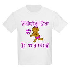 Volleyball Star Hannah Kids T-Shirt