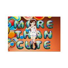 Still Crazy Slogan Rectangle Magnet