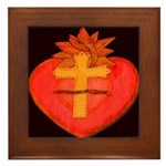 Sacred Heart/Sagrado Corazon Framed Tile