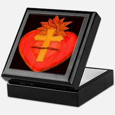 Sacred Heart/Sagrado Corazon Keepsake Box