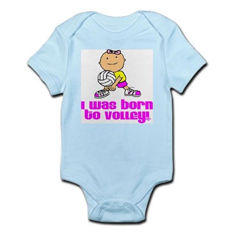 Born to Volley Isabella Infant Creeper