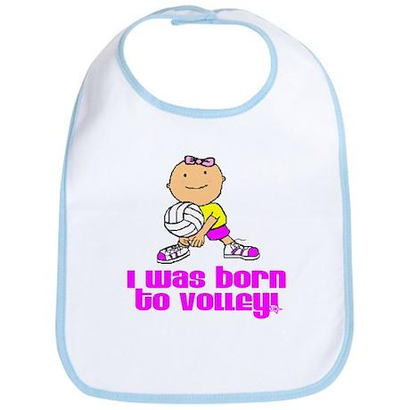 Born to Volley Isabella Bib