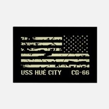 USS Hué City Rectangle Magnet