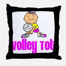 Volley Tot Isabella Throw Pillow