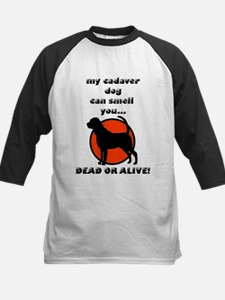 cadaver bloodhound Kids Baseball Jersey