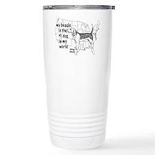 Beagle World Travel Mug