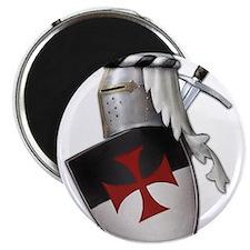 Knights Templar Magnet