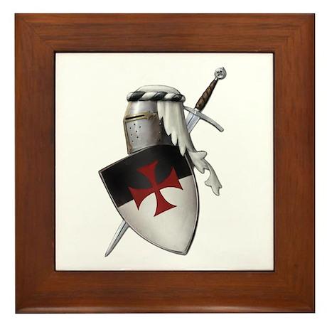 Knights Templar Framed Tile