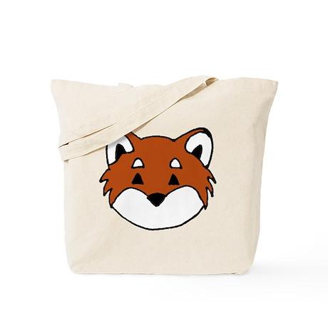 Shiba Face Tote Bag