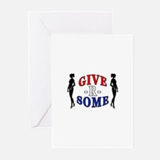 """""""Give-R-Some"""" Greeting Cards (Pk of 10)"""