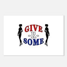 """Give-R-Some"" Postcards (Package of 8)"