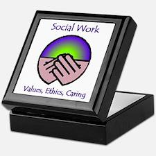Social work month Keepsake Box