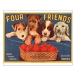 Four Friends Small Poster