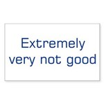 Extremely (blue) Sticker (Rectangle 10 pk)