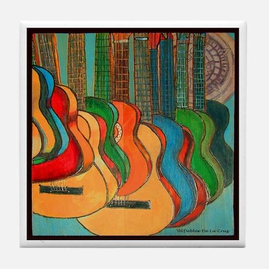 Strings Tile Coaster