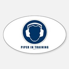 Pipe box Oval Decal